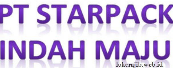 Lowongan Kerja PT. STARPACK INDAHMAJU Pulogadung Juni 2018