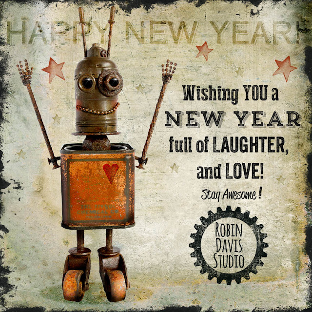 Happy New Year from Robin Davis Studio