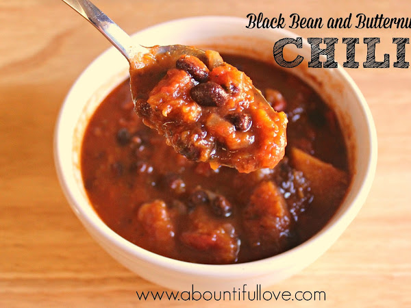 Black Bean and Butternut Chili
