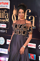 Sanjjanaa Galrani aka Archana Galrani in Maroon Gown beautiful Pics at IIFA Utsavam Awards 2017 19.JPG