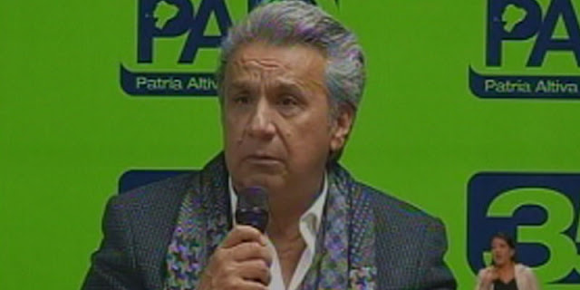 lenin moreno no debate
