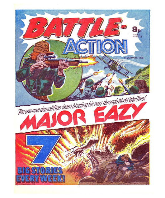 Battle Action - Issue 150 - 14-01-1978