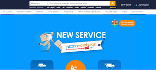 Situs Toko Online jakartanotebook com yang Bisa Bayar Ditempat atau COD di Indonesia