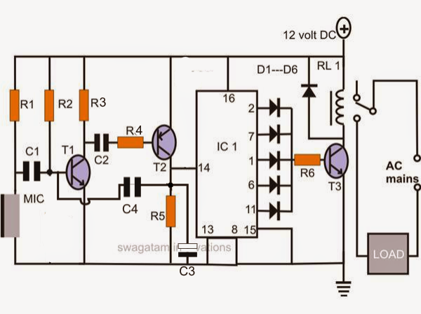 Make A Simple Electronic Clap Switch Circuit