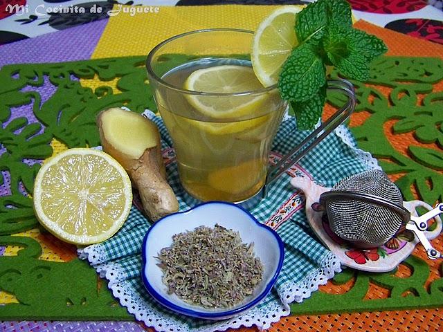 Infusión Para Aliviar los Síntomas de Gripes y Resfriados