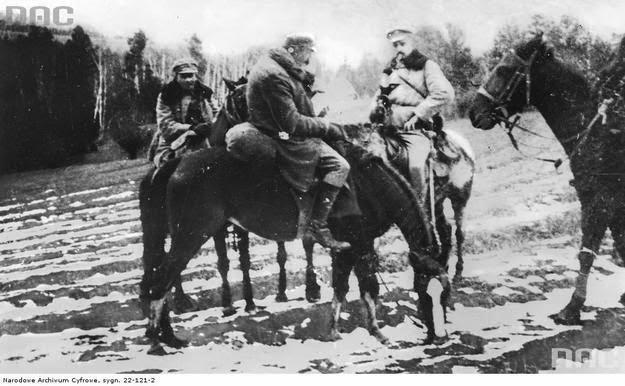 Legiony z Limanowej do Kamienicy - 1914