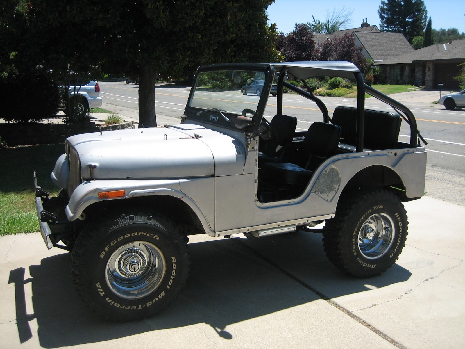 Eric's Garage: 1955 Willys M38A1 the miliary spec CJ5 Jeep