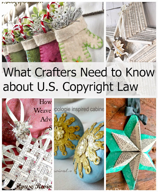 What Crafters Need to Know About U.S. Copyright Law
