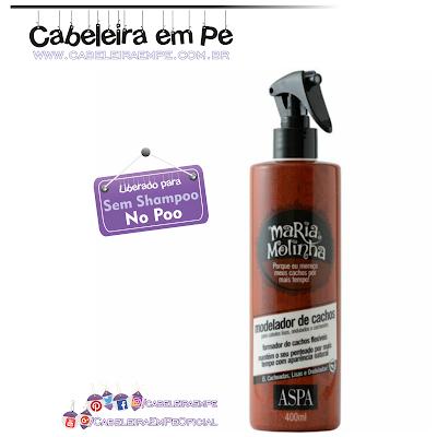 Modelador De Cachos Maria Molinha - Aspa