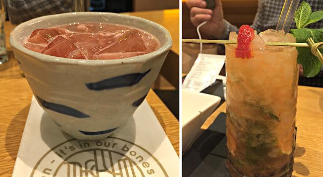 Cocktails at Shoryu