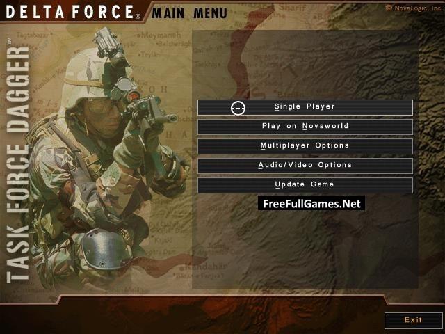 Delta Force: Task Force Dagger PC Game Free Download Full Version