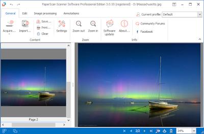 Screenshot PaperScan Professional 3.0.57 Full Version