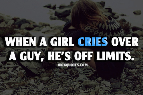 Girl Crying Quotes Wwwpicsbudcom