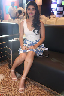 Yamini in Short Mini Skirt and Crop Sleeveless White Top 099.JPG