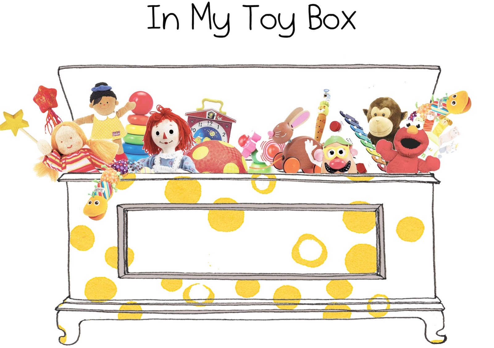 Toy Box Toys Diaper Style Memoirs In My Toy Box Vintage Toys