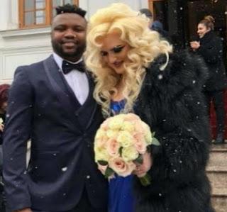 samuel afolabi marries white lady