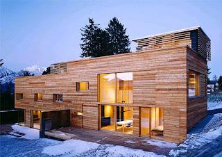 casa de madeira clt