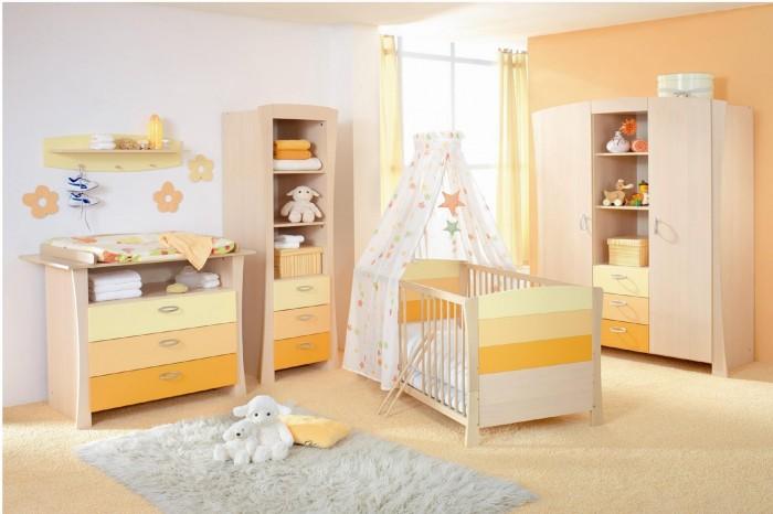 Hogares frescos 100 dise os de habitaciones para ni as for Diseno de habitacion para bebes