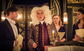 David Horovitch & ensemble - Nick Drake: All the Angels - Sam Wanamaker Playhouse- photo Marc Brenner