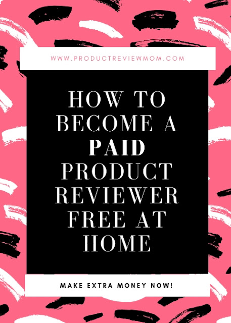 How to Become a Paid Product Reviewer Free at Home (Make Extra Money Now!)  via  www.productreviewmom.com