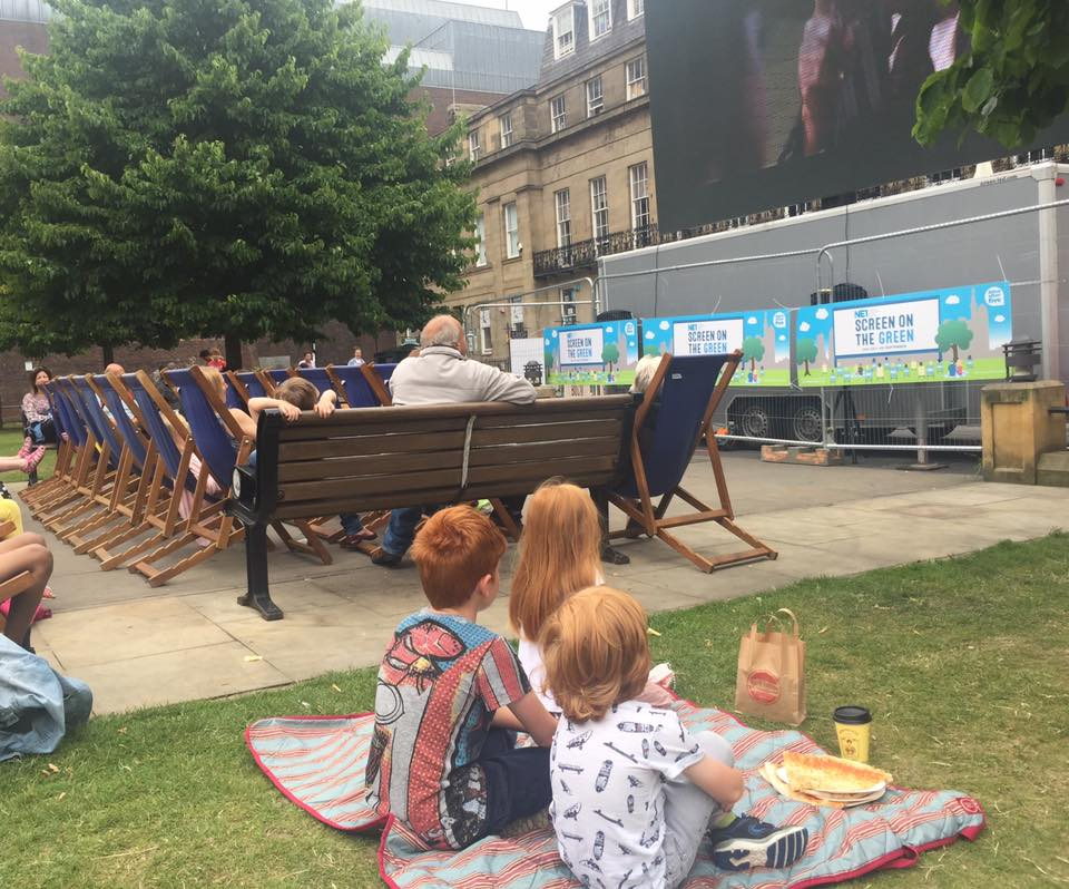 What's on at the Screen On The Green near Eldon Square in Newcastle. Free Movie and Film Listings this Summer.