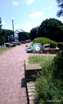 Magnemite, Umikaze Park.