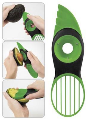 Como partir abacate, compras online