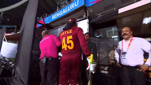 Chris gayle best world cup moment