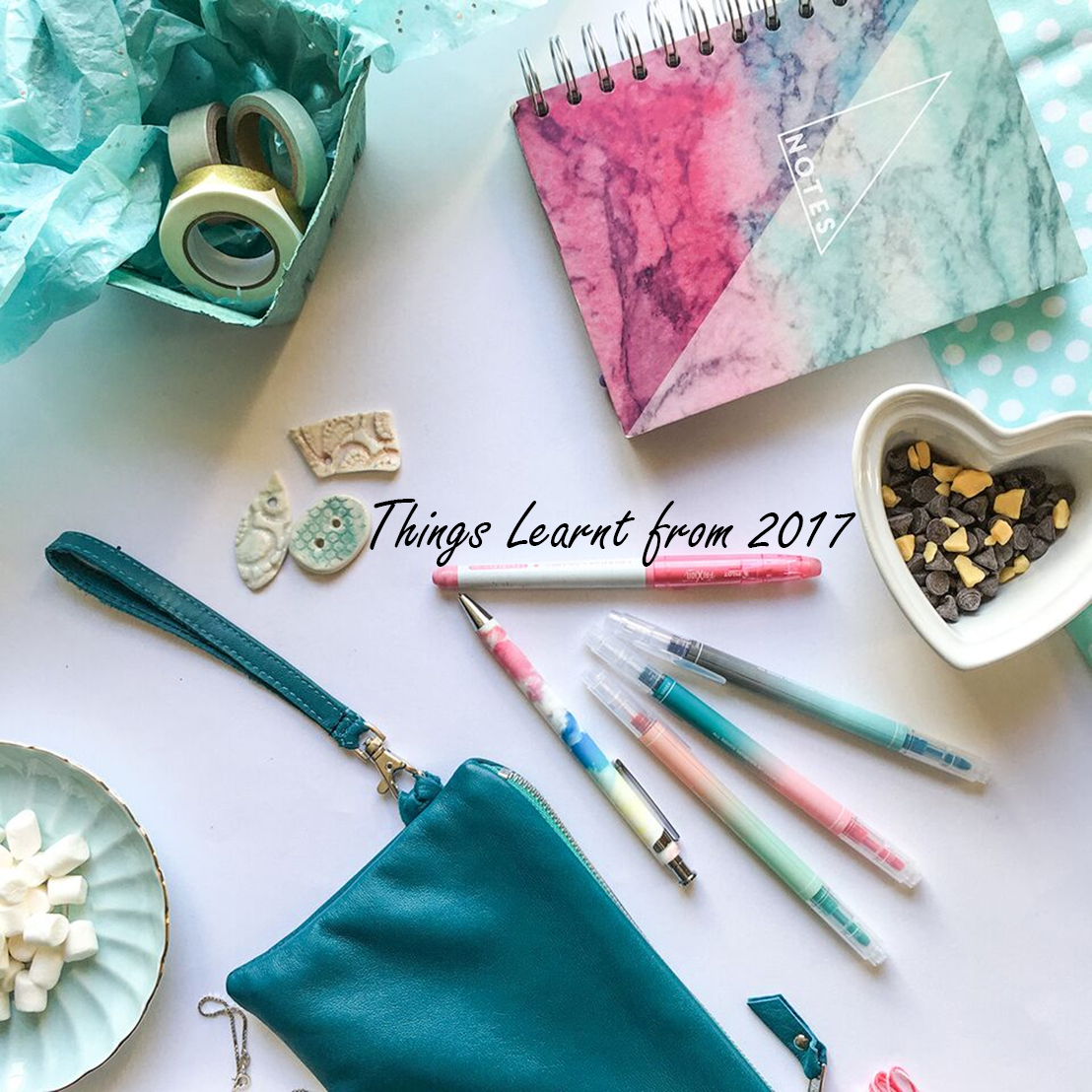 Things learnt from 2017