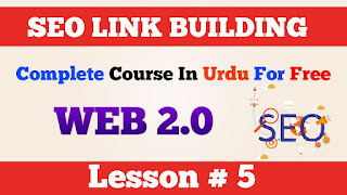 5 Offpage SEO Link Building How to backlink from Web 2 0 Urdu Hindi