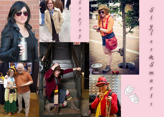 Styles and Smarts Cosplay photo collage