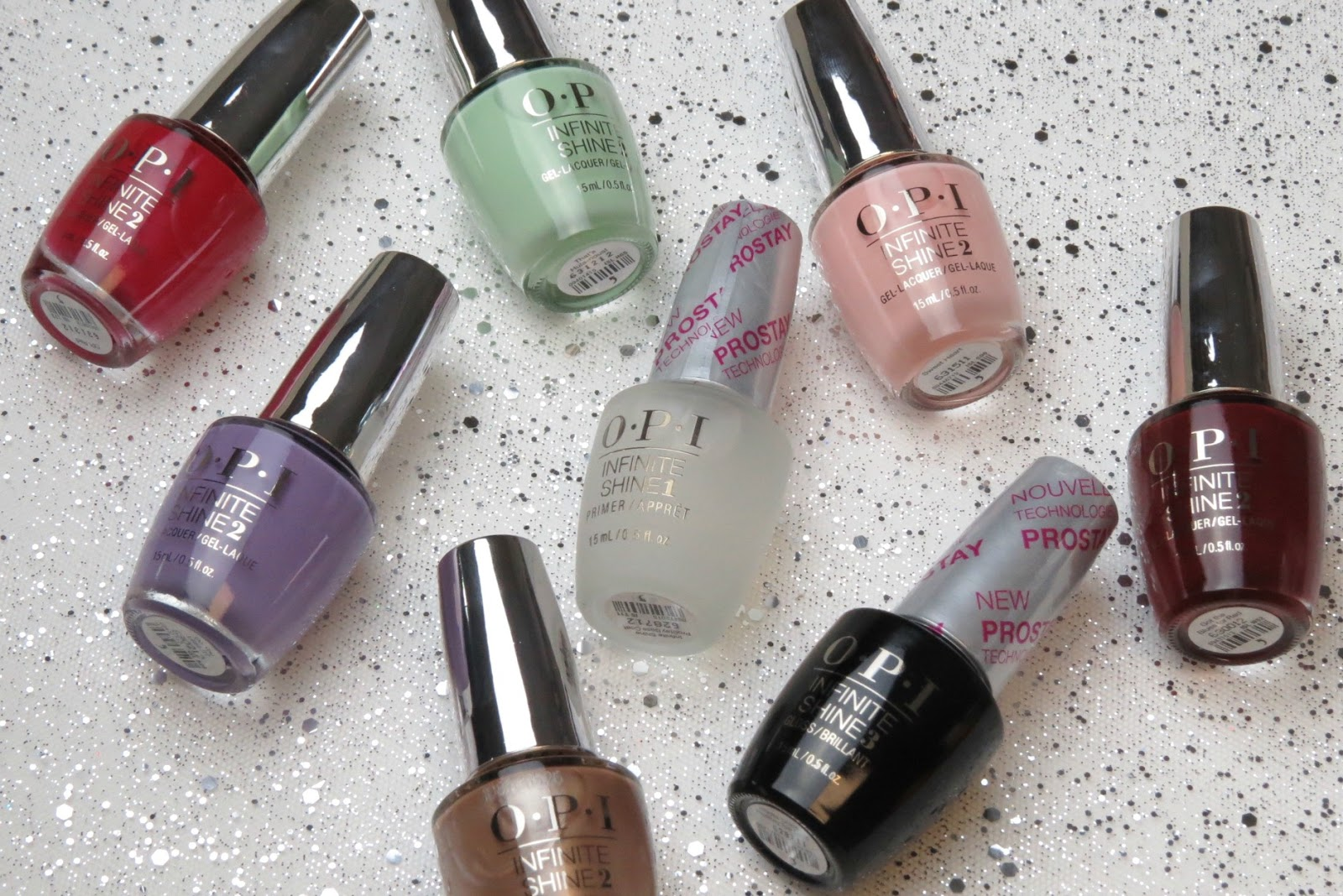 New In: OPI Infinite Shine Iconic Shades & ProStay