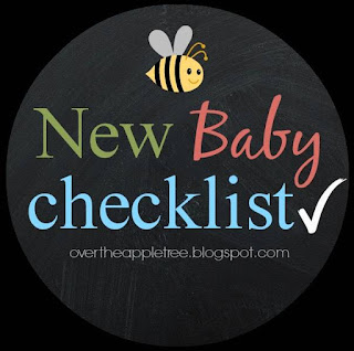 New Baby Checklist, Over The Apple Tree