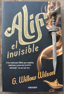 Portada del libro Alif el Invisible, de G. Willow Wilson