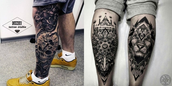 Mytattoolandcom Leg Tattoos For Men