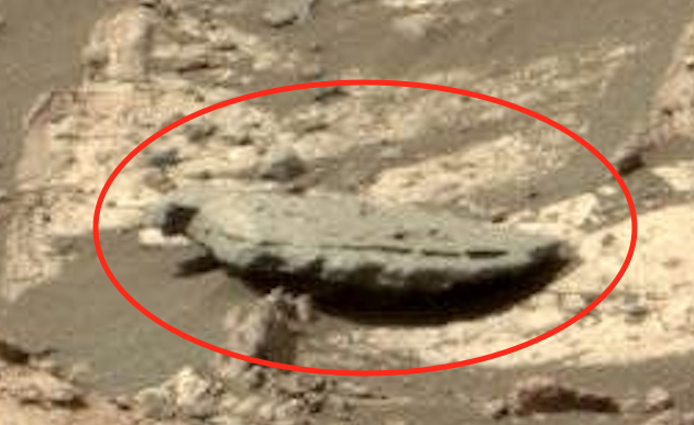 Ufo sightings daily wing sculpture and stone tablet found