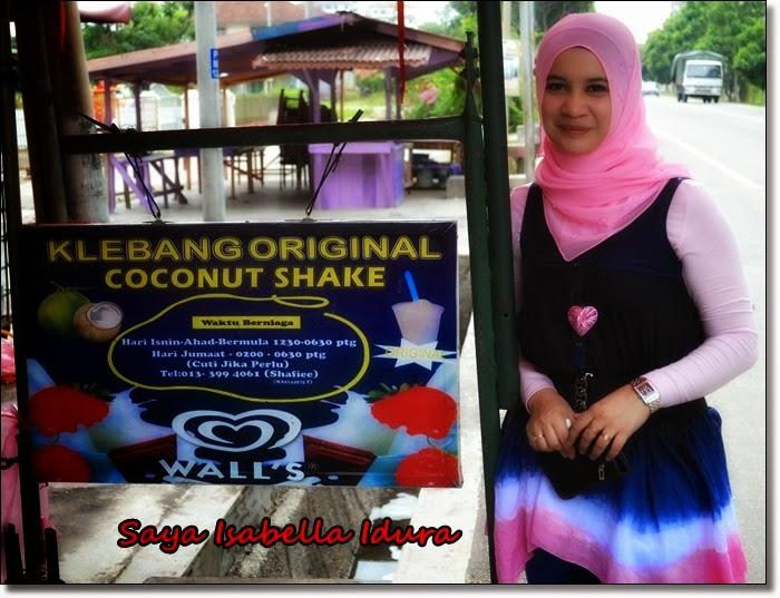 sedap sangat ke coconut shake