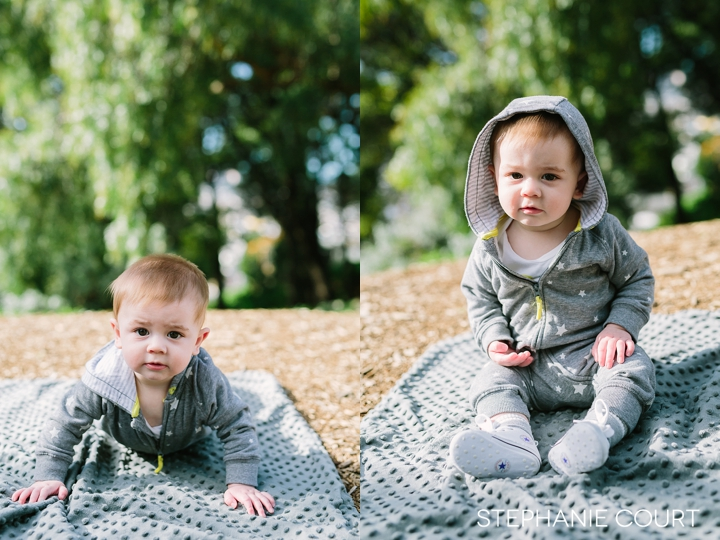 seven month old baby photos