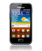 Samsung GALAXY Ace Plus, an enhanced version of the GALAXY Ace