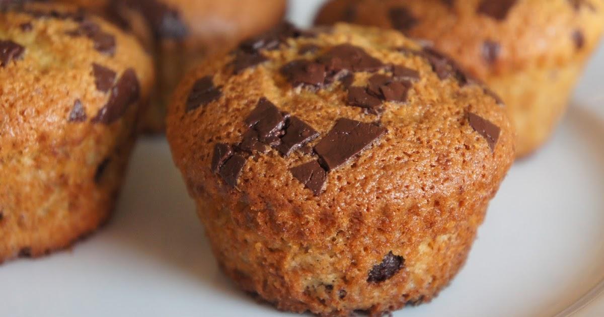 rezept glutenfreie bananen muffins mit schoko ein glutenfreier blog. Black Bedroom Furniture Sets. Home Design Ideas