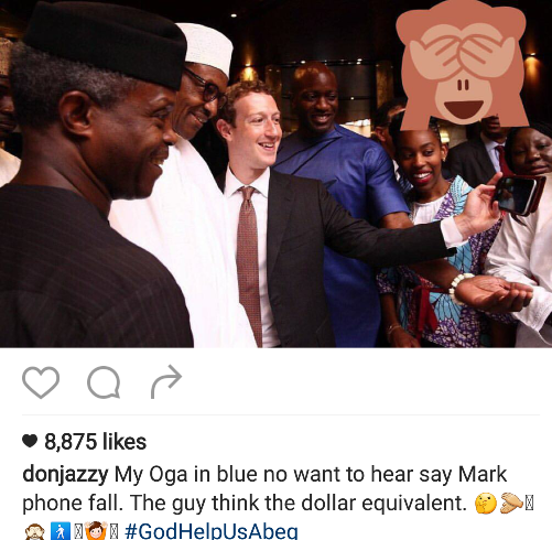 Check Out This Funny Tweet By Don Jazzy - 9jaflaver