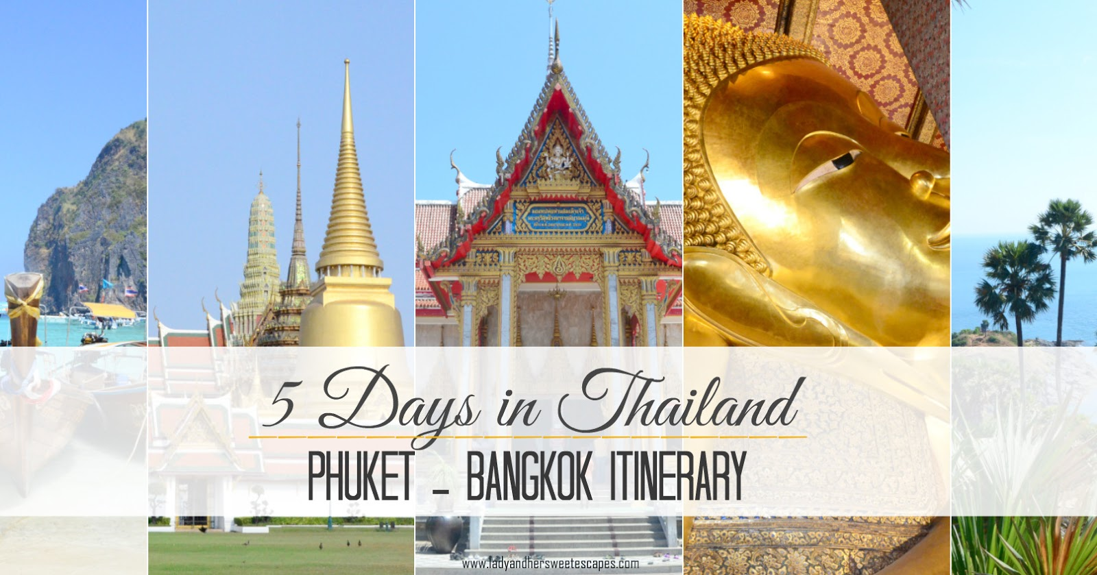 5 Days Inlandet Bangkok Travel Itinerary