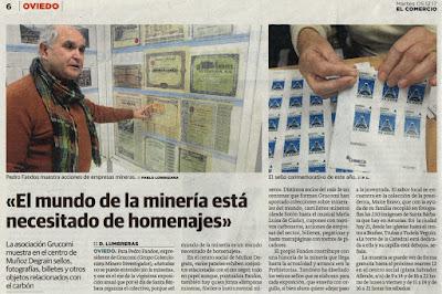 Noticia en El Comercio sobre nuestra exposición