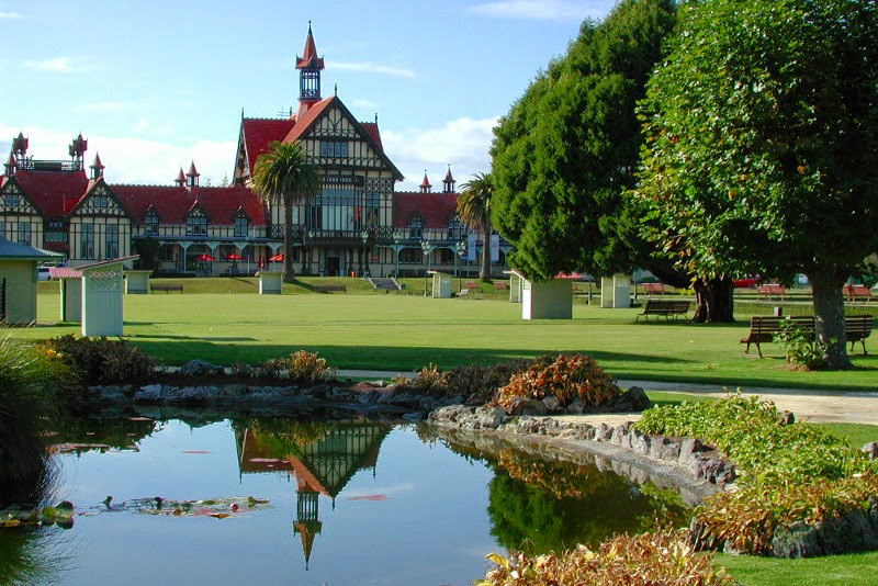 Government Gardens en Rotorua
