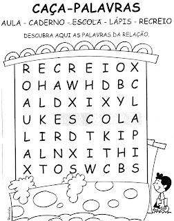 Ler e Escrever: Atividades com o Alfabeto