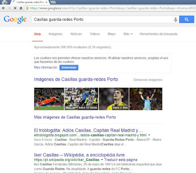Casillas guarda-redes Porto - nº1 en SEO - Google - ÁlvaroGP - Social Media  SEO Strategist