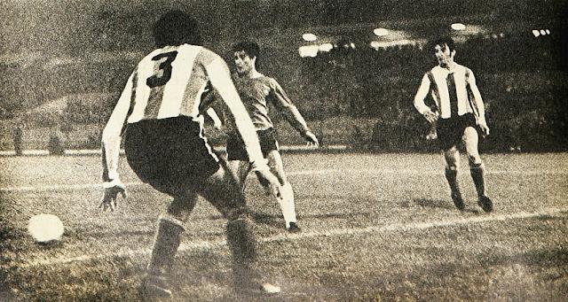 Copa Carlos Dittborn 1971, Chile-Argentina, partido de ida