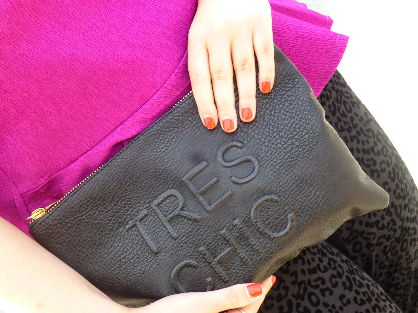 Miss Selfridges Tres Chic Clutch