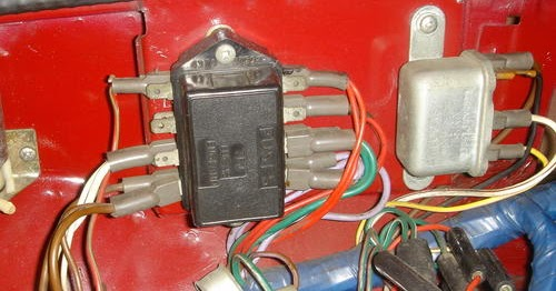 View From A Bus  Mgb Fuse Box