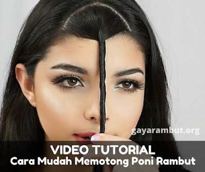 tutorial cara potong poni_98225647